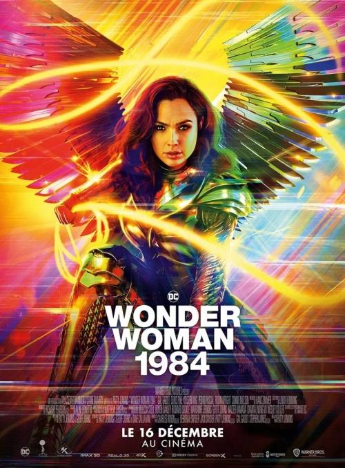 Wonder Woman 1984 film affiche réalisé par Patty Jenkins