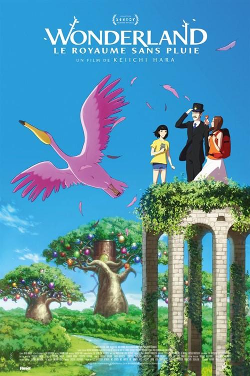 Wonderland, le royaume sans pluie film animation affiche