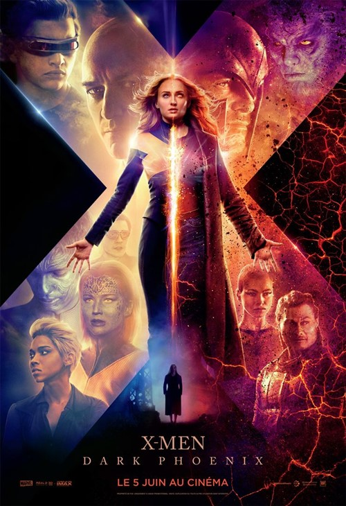 X Men : Dark Phoenix film affiche
