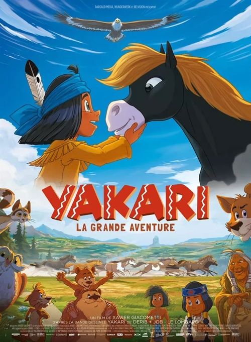 Yakari, le film film animation affiche