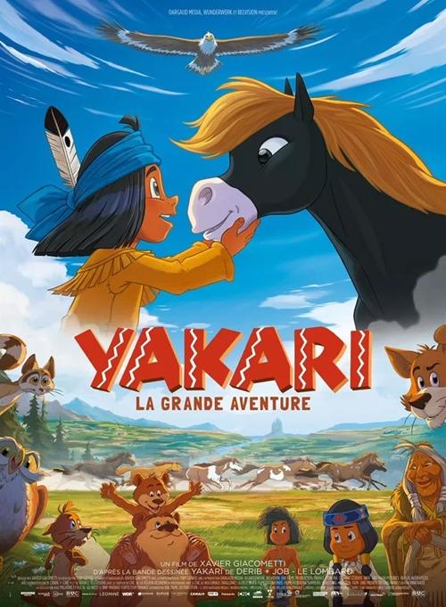 Yakari, le film film animation affiche