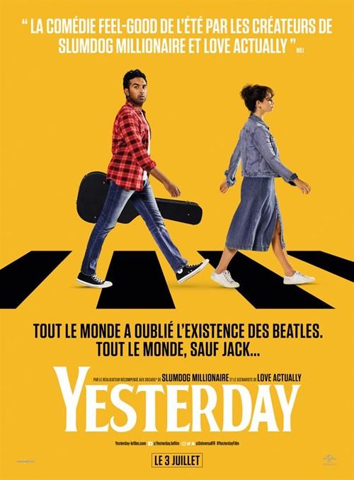 Yesterday film affiche