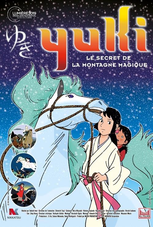 Yuki le secret de la montagne magique film animation affiche