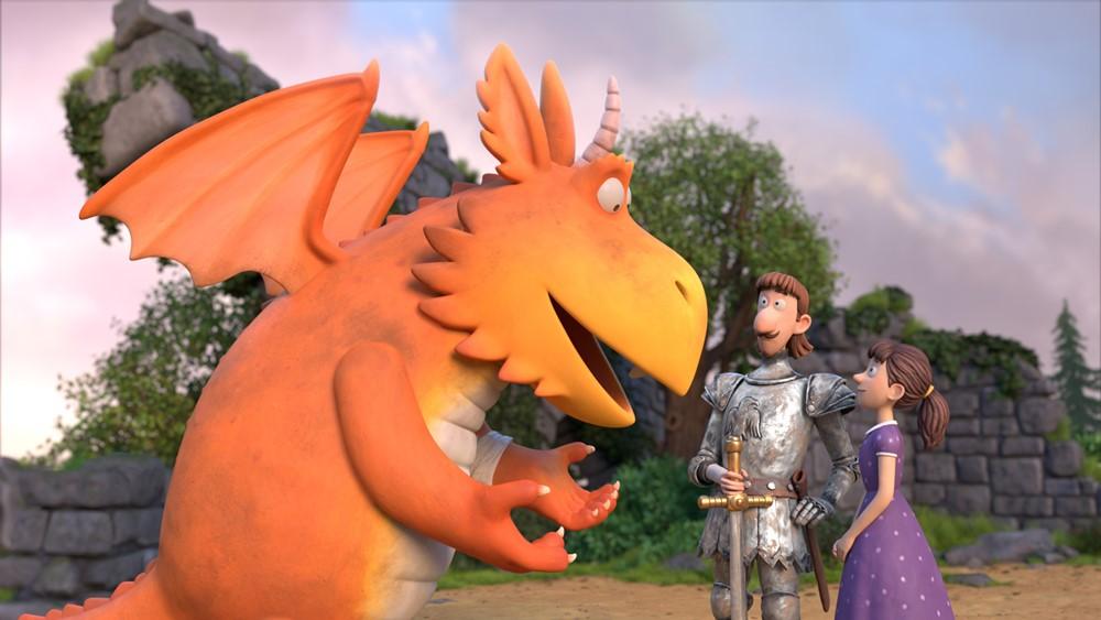 Zébulon, le dragon film animation image