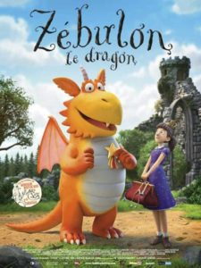 Zébulon, le dragon film animation affiche