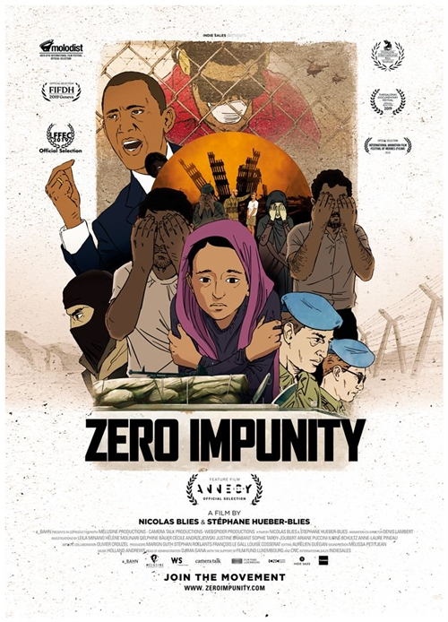 Zero Impunity film animation affiche