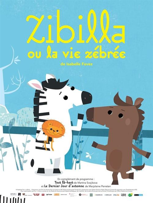 Zibilla ou la vie rêvée film animation affiche
